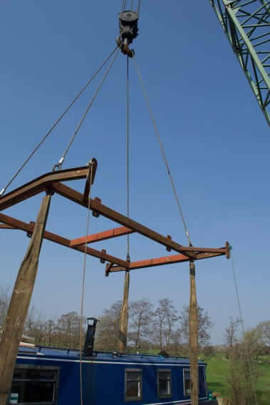 Craned out